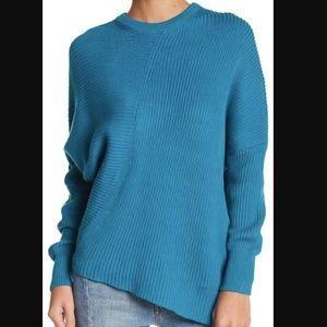 free people | downtown asymmetrical sweater